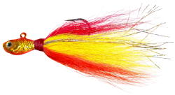 Baitfish Bucktail Jig - WAH-SLV40-SAH