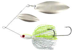 Big Game Spinner Bait 1 oz. Chart Shad Nickel
