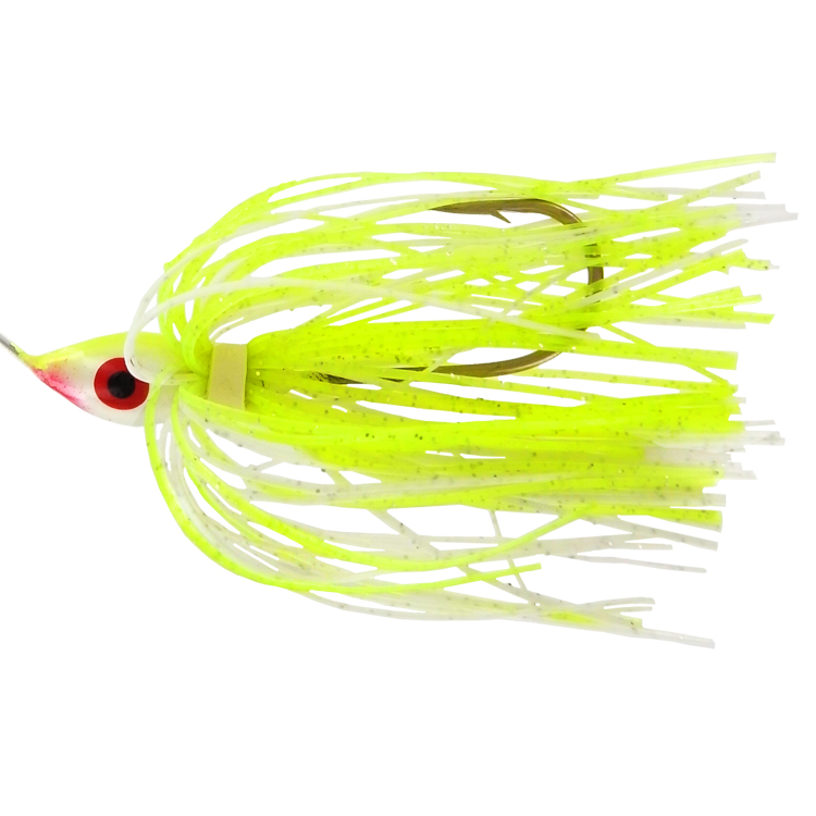Promo Spinnerbait - 3/8 Oz. - Chartreuse White