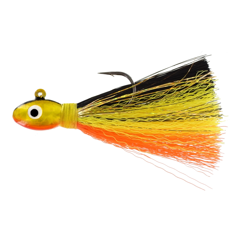 Deluxe Pompano Jig - 1/2 oz. - Gold Shad - 2 per Pack