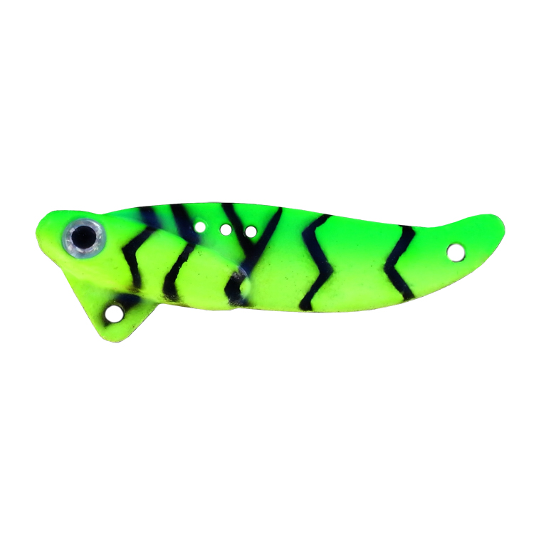 Switchblade Spoon - 3/8 oz. - Chartreuse/Lime Tiger