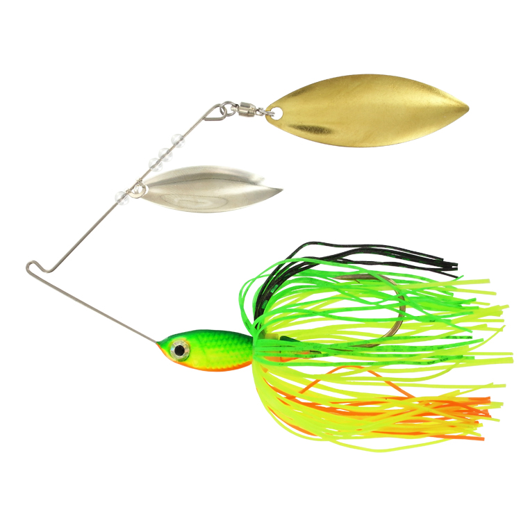Pro Select Minnow Spinner Bait - 3/8 oz. - Fire Tiger