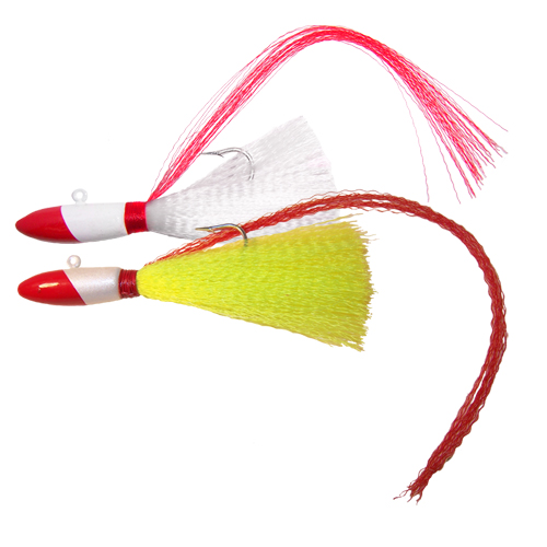 Red Tail Nylon Jig