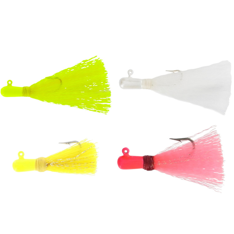 Yellow Tail Nylon Fever Jigs : Wahoo Fishing Products, Inc , Lures